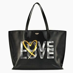 Holographic Love Tote by Victoria's Secret